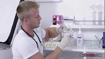 Doctor Wants To Know If Andrea C Can Cum Easily