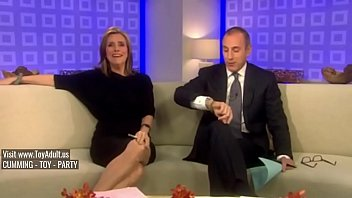 Gas station upskirt Meredith vieira upskirt on the today show
