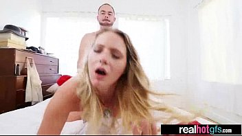 Cute Teen Girlfriend (lilly sapphire) Get Nailed On Cam vid-24
