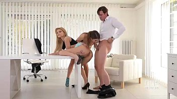 Office Adventures-Luxury Secretaries fuck the Boss image