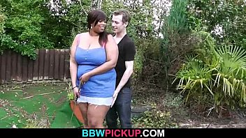 Huge black lady gives tit job then gets fucked