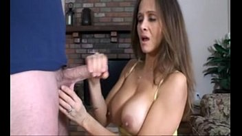 Milf caught slutload Hotwiferio caught step-son jacking off