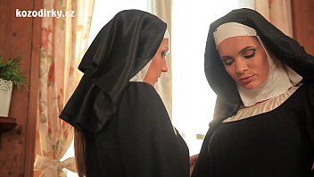 Beautiful nuns enjoying lesbian adventure