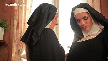 Lesbian nuns sex videos Beautiful nuns enjoying lesbian adventure