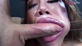 ASIAN COUGAR TRY TO FUCK TWO GIANT COCK WITH HER GLORIUS HOLES