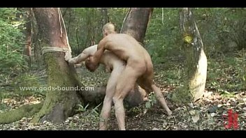 Redhead gay trip in the forest ends bad