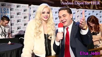 Andrea Diprè for HER - Elsa Jean pornhub video