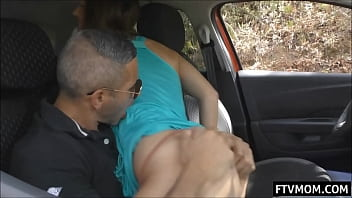 public sex and dry humping in car