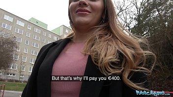 Public Agent Russian shaven pussy fucked for cash porno izle