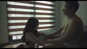 Korean girl with older man