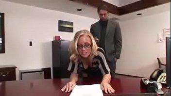 Secretary punished and hard fucked