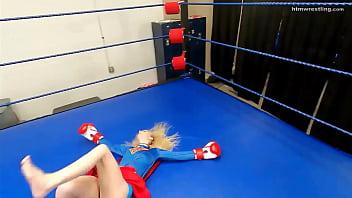 Superheroine Boxing  Ryona