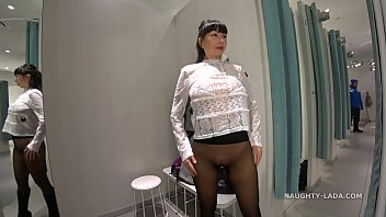 Seamless pantyhose without panties. Another shopping