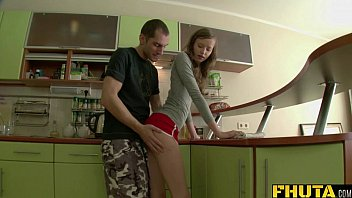 FHUTA - Bent over the Counter and Fucked from Behind
