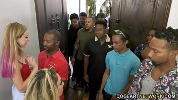 Kiki daire gangbang ass fuck Haley reed and her mom kiki daire make cum 12 black men
