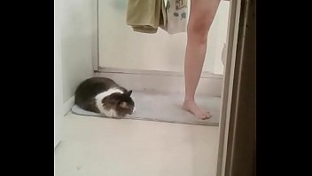 Helen in the bathroom Thumb