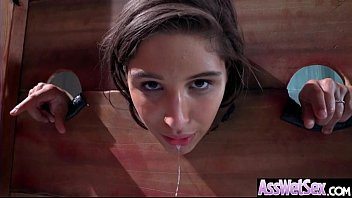 (Abella Danger) Superb Oiled Girl With Round Big Ass Get Analy Nailed clip-01
