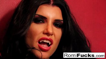 Romi Rain the busty vampire