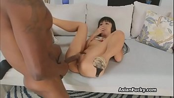 Tight asian ass hole Bbc anal with tight japanese ass
