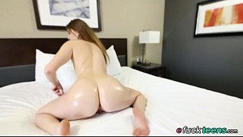 Richie pounds Stacey Leann shaved pussy