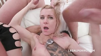 Manhandle, Sindy Rose Rough 4on1 With Total Balls Deep Action, Multiple DAP, Anal Fisting, Creampie Swallow GIO1365