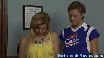 Lesbian teen blondies