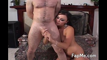 Hot brunette getting wild and horny