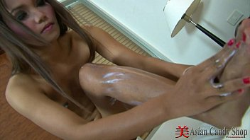 Asian Sexy Solo Rubbing her Tits
