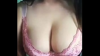 Desi Indian Girl Kajal Playing With Her Boobs
