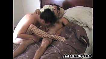 henta comic • Mature amateur couple homemade action with facial thumbnail