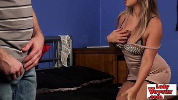 Gorgeous voyeur british babe writhing sexily