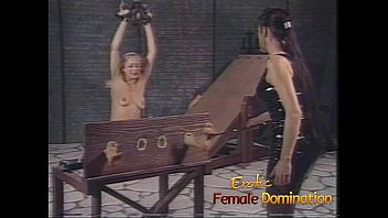 Beautiful slave girl experiences a whole new level of pain-6