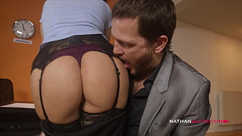 Slut Secretary Martina Gold BUTT DESTROYED By Her Boss BIG DICK Up Her Gaping ASSHOLE