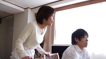 Hot Asian Japanese Mom fucks her Young Son thumbnail