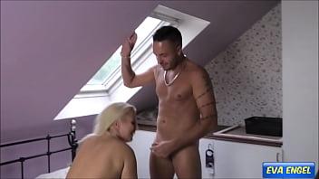 EVA ENGEL: Pervy guy fucks me and I pee on his cock 10 min