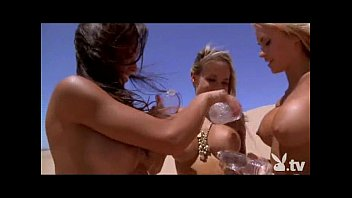 Nude chicks in bikinis - Hot naked chicks sand boarding