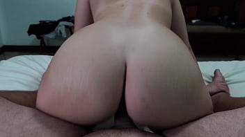Facesitting Of A Perfect Booty Milf Ended With A Hard Pussy Fuck