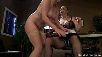 Face sitting lesbian submission and anal