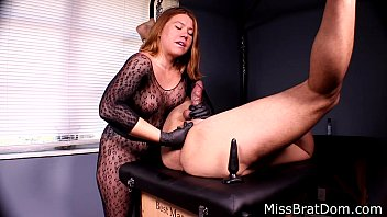 Spank that brat - Bp153-prostate massage femdom- miss brat