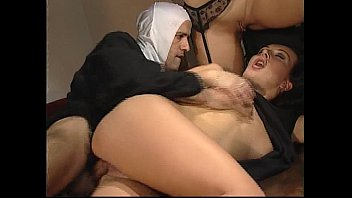 Forbidden sex in the convent between lesbian nuns and dirty monks thumbnail