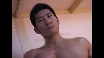 sexy asain china muscle boy model solo