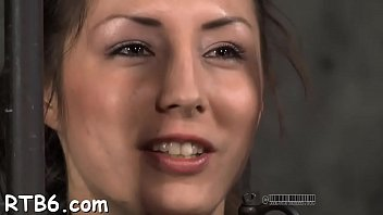 Sweet babe is getting intense facial torture from corporalist
