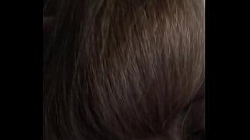 long thick hair blow job