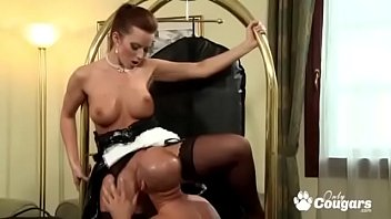 Cindy Dollar Takes A Break From Cleaning To Have Anal Sex video