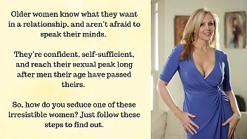 9 Steps To Seduce An Older Woman