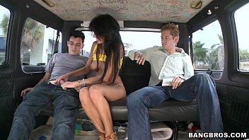 Breanne Benson Fucks on the Bus