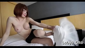 Shemale Bitch In A Kinky Act