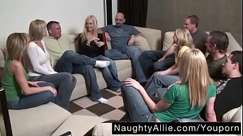 Party Game Leads to a Huge Orgy – Swinger Wives - Free Porn Videos - YouPorn.MP4