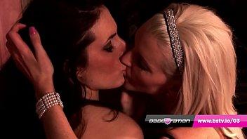 Kinky Boots - UK pornstars Paige Turnah & Lexie Lou lesbian fuck