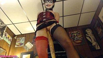 AdalynnX - Harley Quinn Cosplay Fun!!!